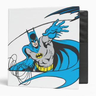 Batman Throws Batarang 3 3 Ring Binder