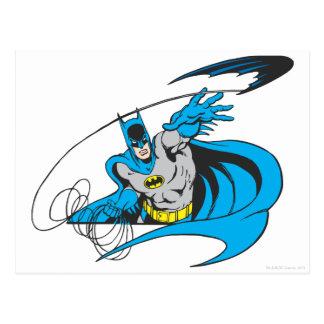 Batman Throws Batarang 3 Post Card