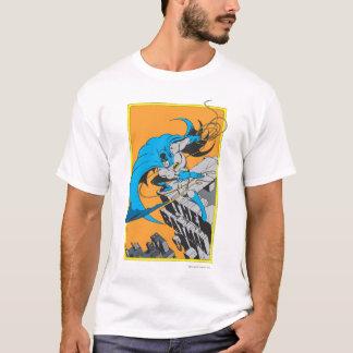 Batman Throws Batarang on Rooftop T-Shirt