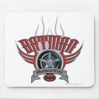 Batman | Tire Rim Logo Mouse Pad