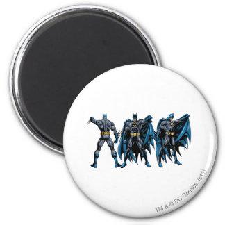 Batman - todos los lados imán redondo 5 cm
