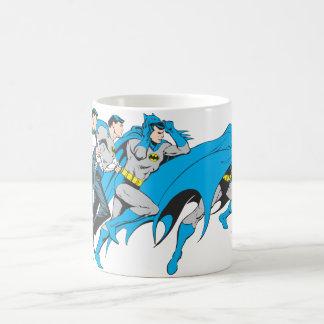 Batman/transformación de Bruce Tazas