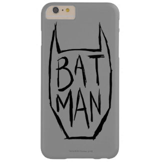 Batman Type in Head Barely There iPhone 6 Plus Case