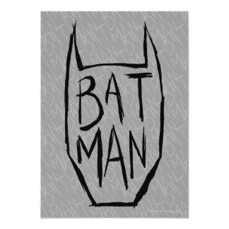 Batman Type in Head Card