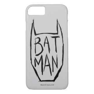 Batman Type in Head iPhone 7 Case