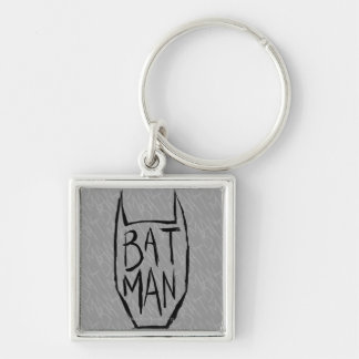 Batman Type in Head Keychain