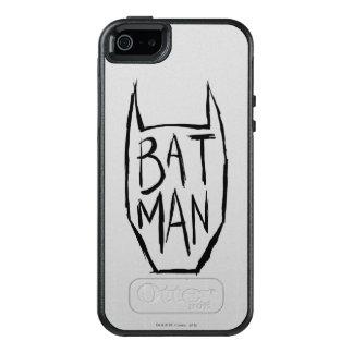 Batman Type in Head OtterBox iPhone 5/5s/SE Case