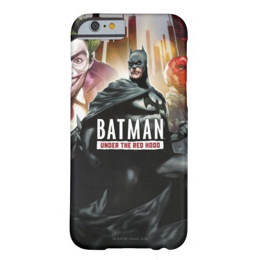 Batman Under The Red Hood Barely There iPhone 6 Case