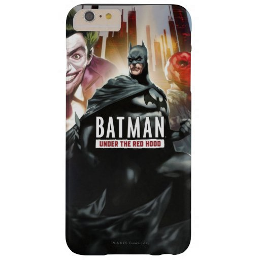 Batman Under The Red Hood Barely There iPhone 6 Plus Case