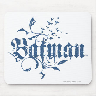 Batman | Urban Blue Logo Mouse Pad