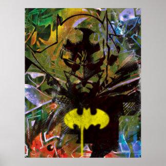 Batman Urban Hip Poster