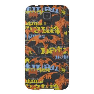 Batman Urban Legends - Bat Grunge Orange Case For Galaxy S5