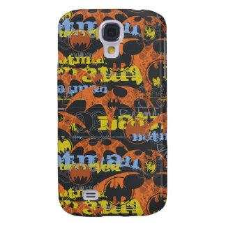 Batman Urban Legends - Bat Grunge Orange Samsung S4 Case