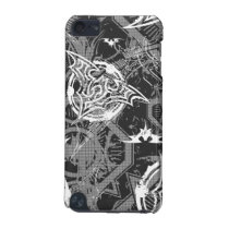 Batman Urban Legends - Bat Stamp Pattern BW iPod Touch 5G Case