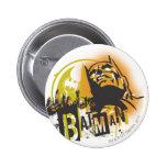 Batman Urban Legends - Batman Stencil Pinback Buttons