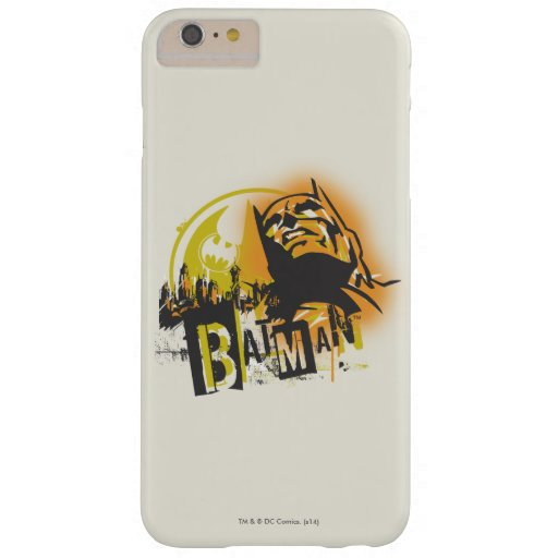 Batman Urban Legends - Batman Stencil Barely There iPhone 6 Plus Case