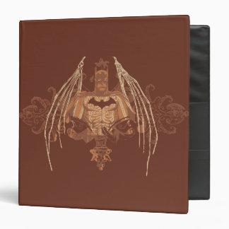 Batman Urban Legends - Brown Bat Wings Binder