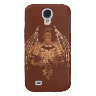 Batman Urban Legends - Brown Bat Wings Galaxy S4 Cover