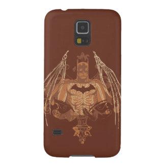 Batman Urban Legends - Brown Bat Wings Galaxy S5 Case