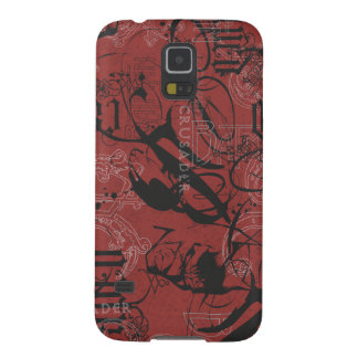 Batman Urban Legends - Caped Crusader Pattern 2 Cases For Galaxy S5