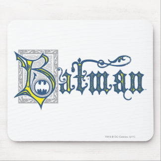 Batman | Urban Legends Capital B Yellow Logo Mouse Pad