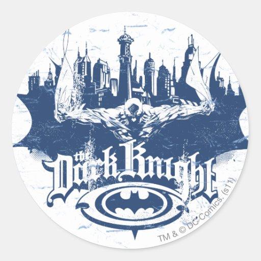 Batman Urban Legends - Dark Knight Cityscape 2 Stickers