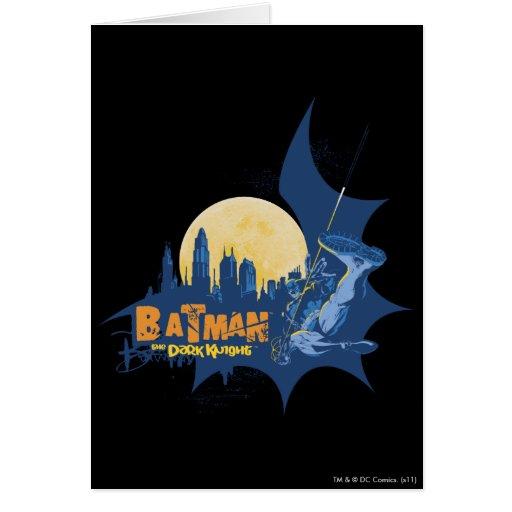 Batman Urban Legends - Dark Knight Cityscape Greeting Card