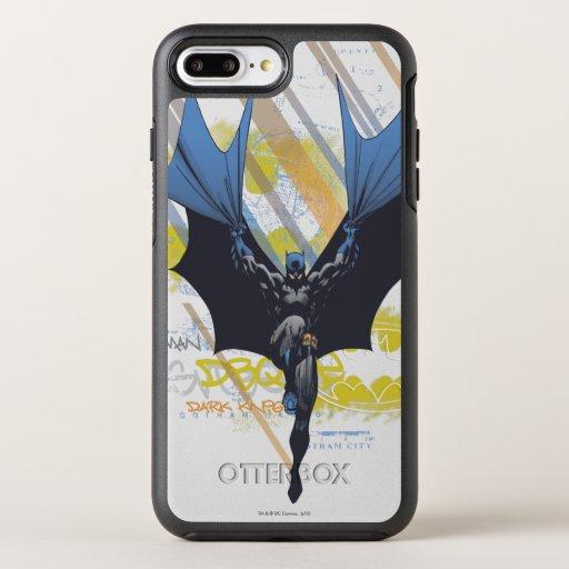 Batman Urban Legends - Dark Knight Graffiti OtterBox Symmetry iPhone 8 Plus/7 Plus Case