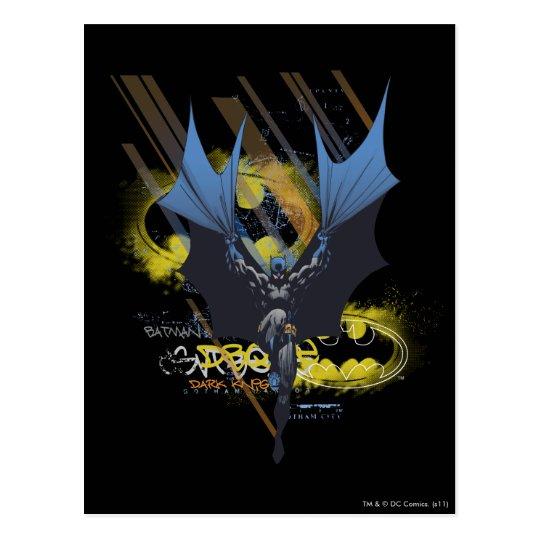 Batman Urban Legends - Dark Knight Graffiti Postcard