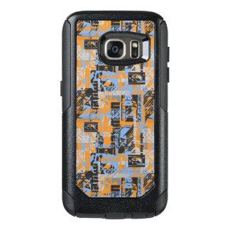 Batman Urban Legends - Dark Night Text Orange OtterBox Samsung Galaxy S7 Case