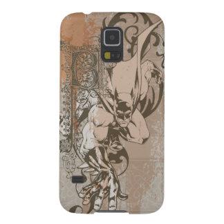Batman Urban Legends - Dropcap on Wallpaper Galaxy S5 Case