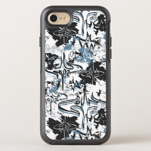 Batman Urban Legends - Graffiti Bat Pattern OtterBox Symmetry iPhone 8/7 Case