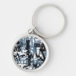 Batman Urban Legends - Graffiti Text Blue/ Keychain