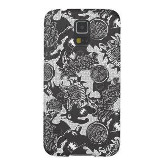 Batman Urban Legends - Graffiti Textile Pattern BW Galaxy S5 Cover