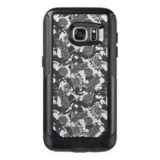 Batman Urban Legends - Graffiti Textile Pattern BW OtterBox Samsung Galaxy S7 Case