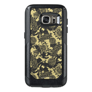 Batman Urban Legends - Graffiti Textile Yellow OtterBox Samsung Galaxy S7 Case