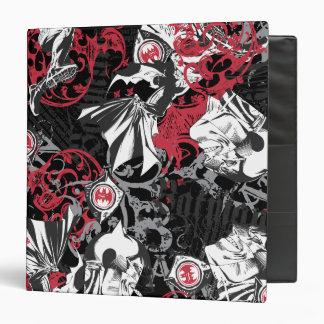 Batman Urban Legends - Head Pattern Red/Black Binder