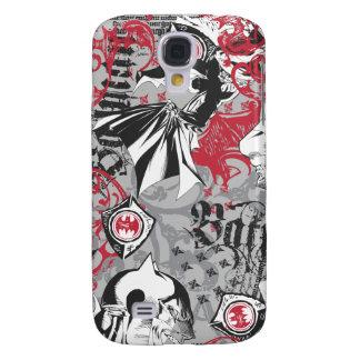 Batman Urban Legends - Head Pattern Red/Black Galaxy S4 Case