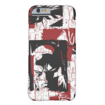 Batman Urban Legends - Mask & Fist Stamp Red Barely There iPhone 6 Case