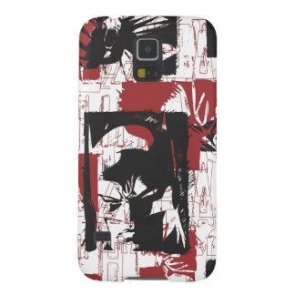 Batman Urban Legends - Mask & Fist Stamp Red Case For Galaxy S5