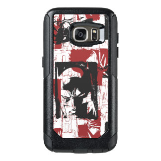 Batman Urban Legends - Mask & Fist Stamp Red OtterBox Samsung Galaxy S7 Case