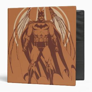 Batman Urban Legends - Orange Wings 3 Ring Binder
