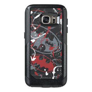 Batman Urban Legends - Paint Splatter Logo Pattern OtterBox Samsung Galaxy S7 Case