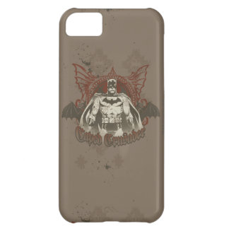 Batman Urban Legends - Red/Taupe Caped Crusader Case For iPhone 5C