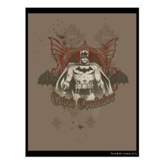 Batman Urban Legends - Red/Taupe Caped Crusader Postcard