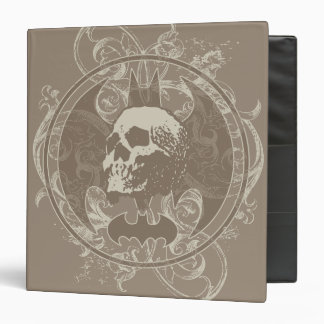 Batman Urban Legends - White/Taupe Skull Binder