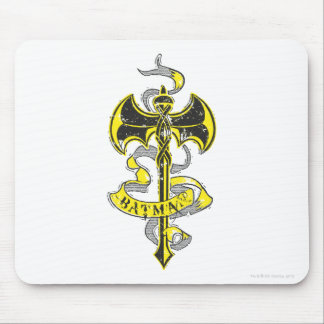 Batman | Urban Yellow Sword Logo Mouse Pad