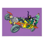 Batman Villains In Jokermobile Card