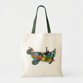 Batman Villains In Jokermobile Tote Bag