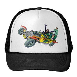 Batman Villains In Jokermobile Trucker Hat